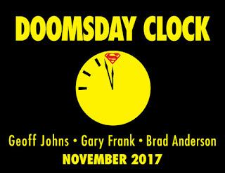 """""""Doomsday Clock"""" la próxima miniserie de Geoff Johns [DC Comics]"""