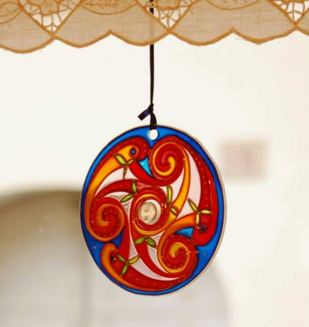 FILTRASOLE E DECORAZIONI PER LA CASA - Sun catcher and home decorations