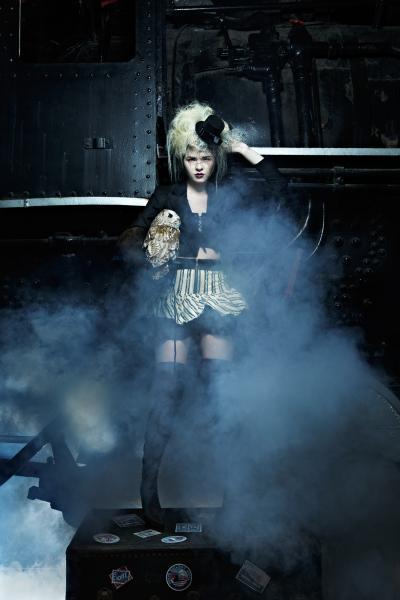 steampunk cyberpunk dieselpunk costume clothing fashion women