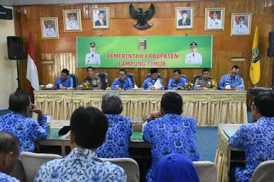Jokowi Akan ke Lampung Timur, Wabup Pimpin Rapat