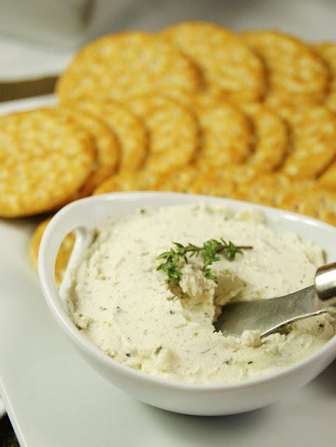 Homemade Boursin-Style Cheese Spread   The Kitchen Is My Playground