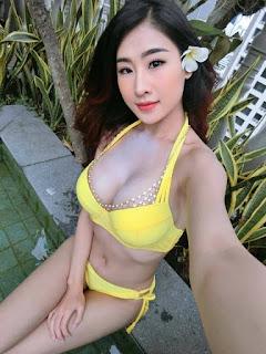 Gái xinh facebook DJ Oxy bikini