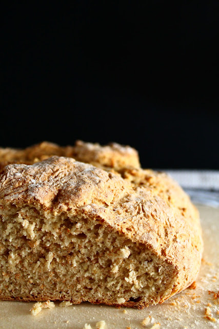 Irish soda bread (pan de soda irlandés)