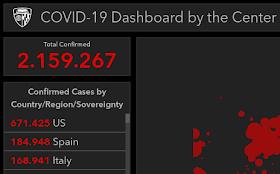 COVID-19: Mapa interactivo de la propagación del coronavirus