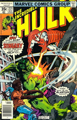 Incredible Hulk #221, Stingray