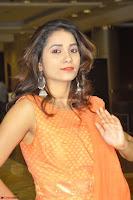 Bhanu Priya in Oreange Ethnic Anarkali Dress 04.JPG