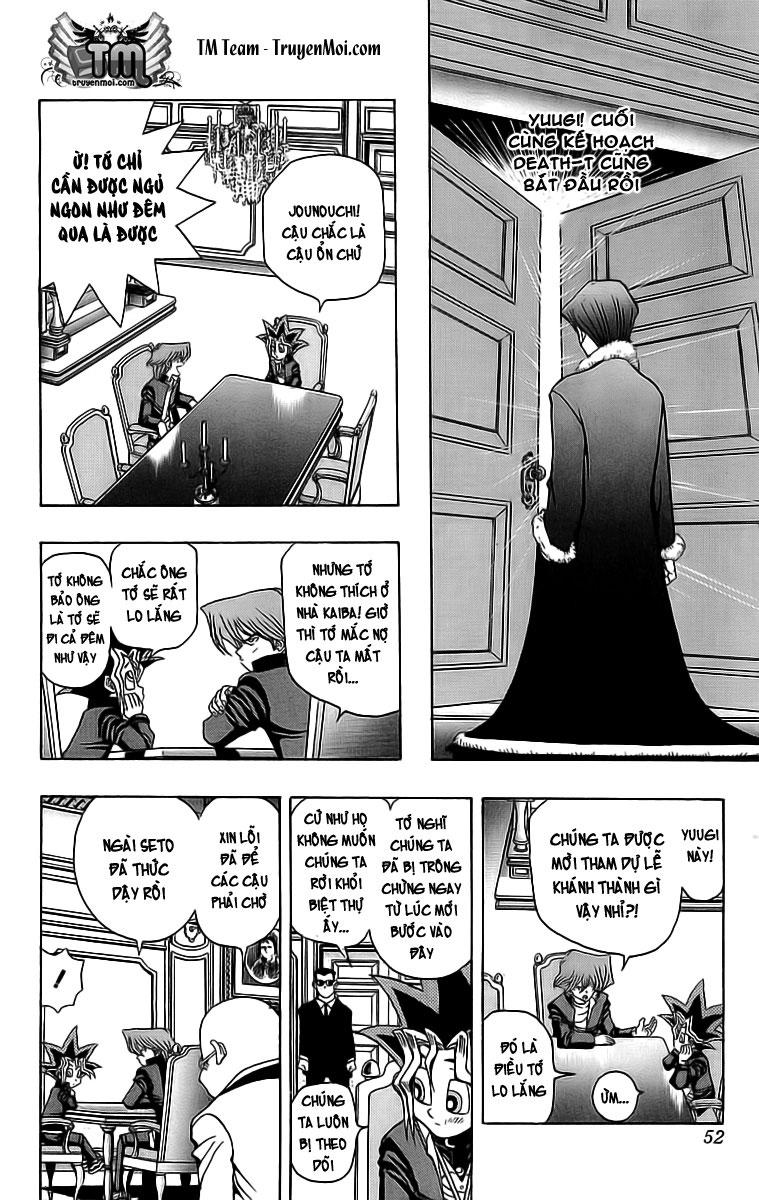 YUGI-OH! chap 27 - trò chơi trừng phạt trang 6