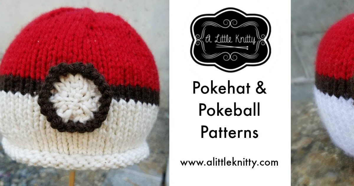 Free Pattern Wednesday Pokeball Newborn Pokehat