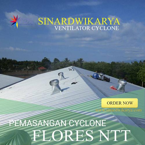PEMASANGAN CYCLONE DI FLORES NTT