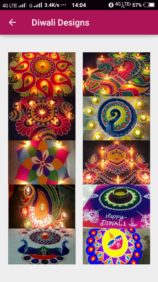 Tech Thoughts: Rangoli Android APP