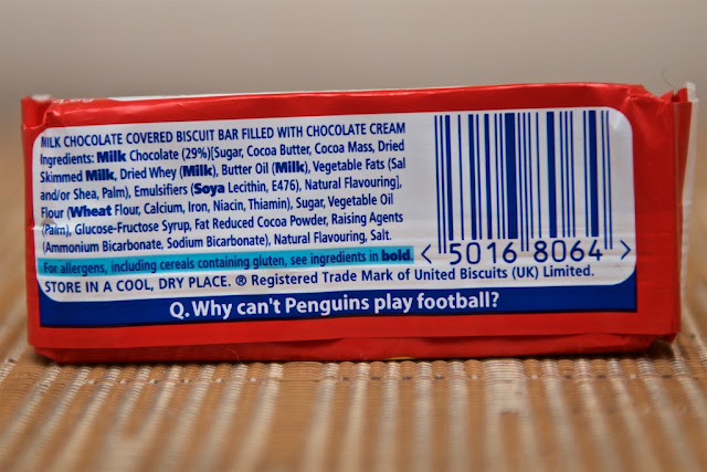 Penguin McVitie's - Pingouin McVitie's - United Biscuits - Breakfast - Biscuits - Scottish Biscuits - Original Penguin - Chocolat au lait - Milk Chocolate - Dessert - Snack - Penguin Joke