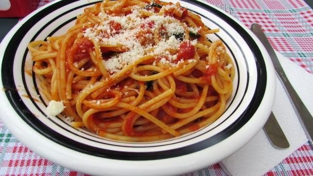 makaron, spaghetti, Rzym