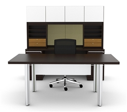 Contemporary Executive Desk Set
