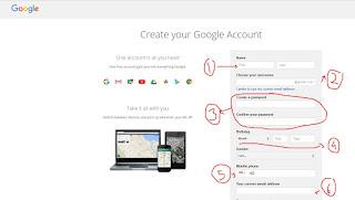 Cara membuat email di gmail dnegan mudah