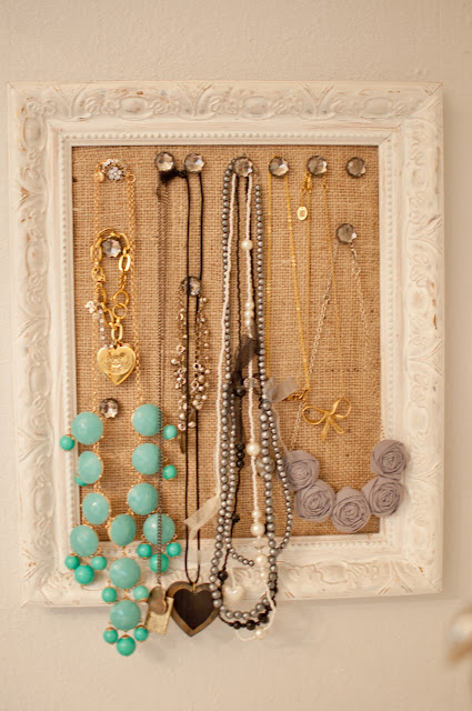 Cork Board Jewelry Frame