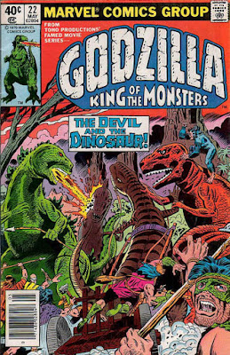 Godzilla #22, Devil Dinosaur