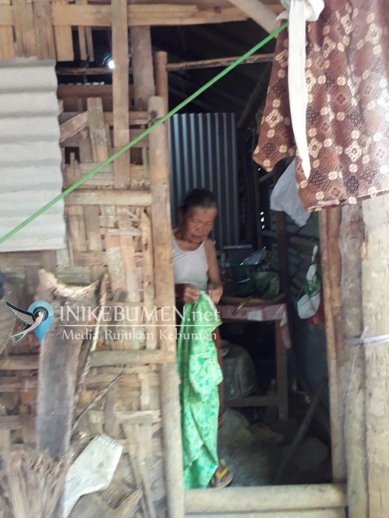 Tempati Rumah Tidak Layak, Rumah Nenek Satinah Bakal Diperbaiki Sedulur Kebumen