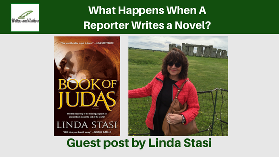 What Happens When A Reporter Writes a Novel?