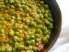 Green Peas in a Tomato Coconut Gravy