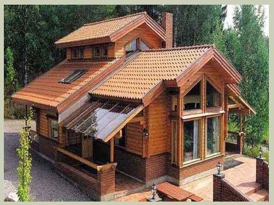 Rumah Musim Panas Yang Nampak Antik