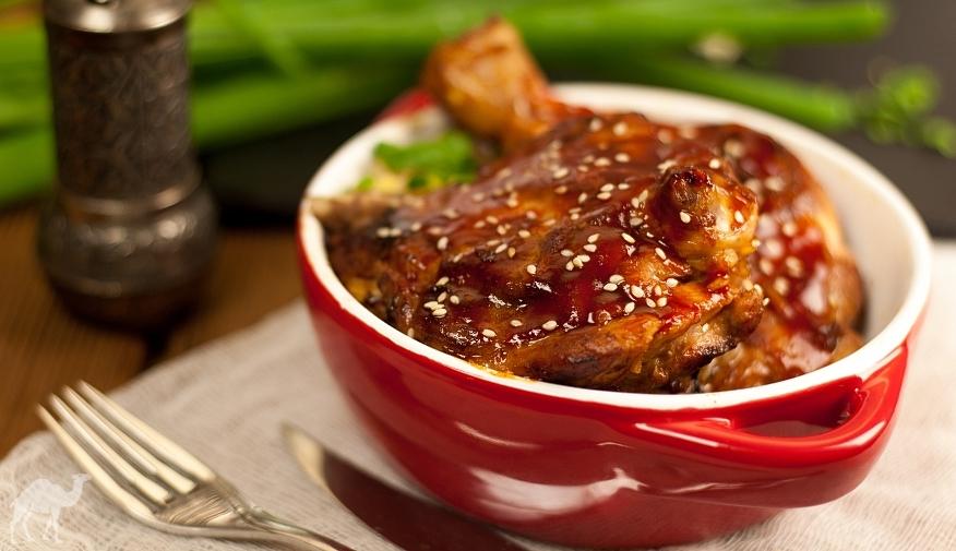 Kurczak z sezamem czyli tanie danie