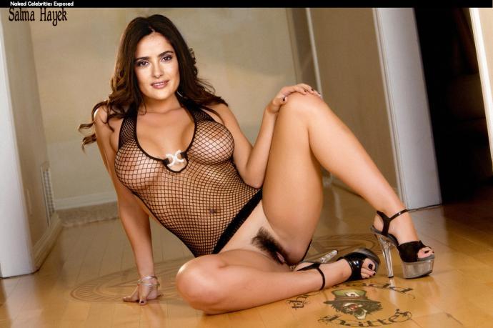 Pussy salma hayek nudes what Lauren's sister