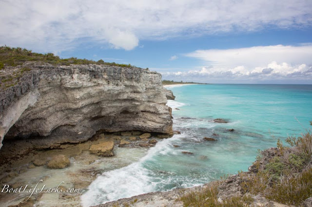Sugar Beach Caves, Great Harbour Cay, Berry Islands