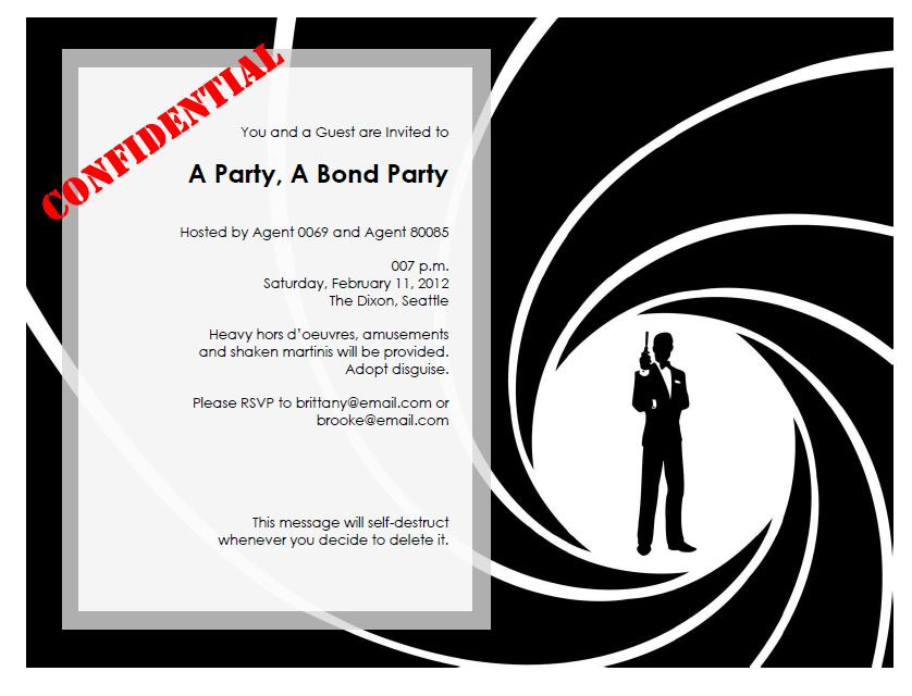 This Years Theme Was James Bond If For No Other Reason Than I Was Determined To Wear A Swanky Dress And Wanted Another Excuse To Make Our Friends Take
