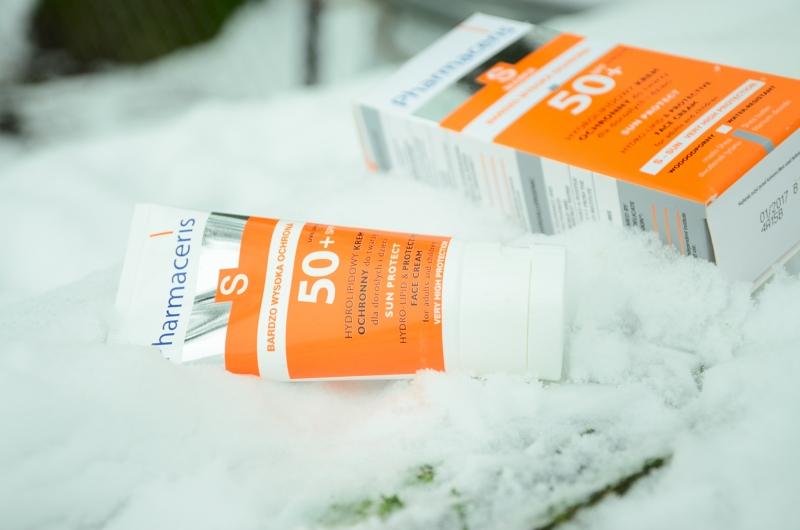 Pharmaceris S   Hydrolipidowy krem ochronny do twarzy dla dorosłych i dzieci SPF 50 +