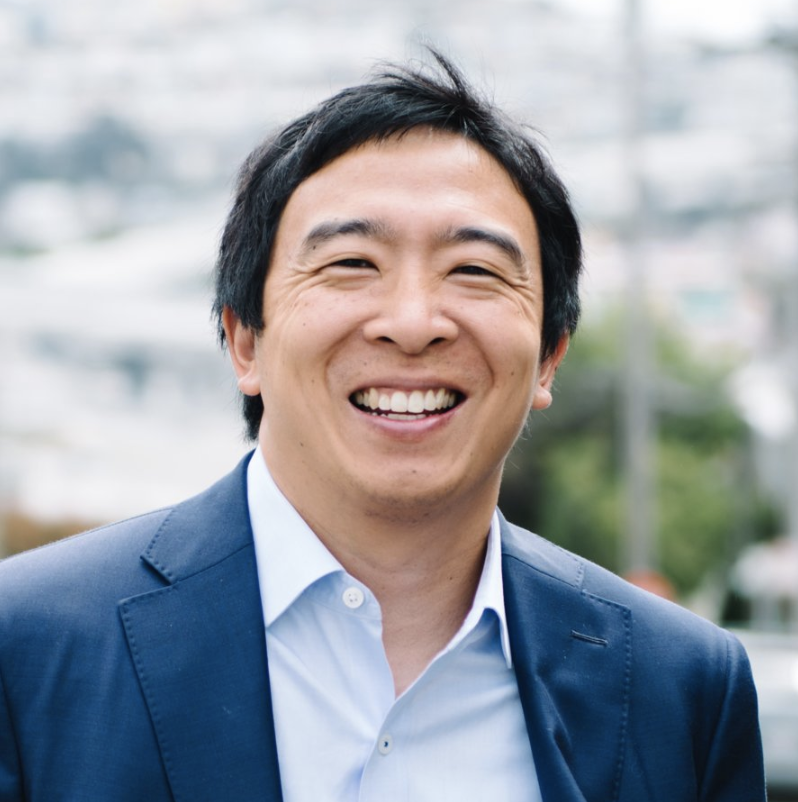The News Unit Andrew Yang For President 2020 Freedom