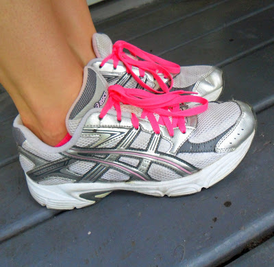 Sweat Pink laces