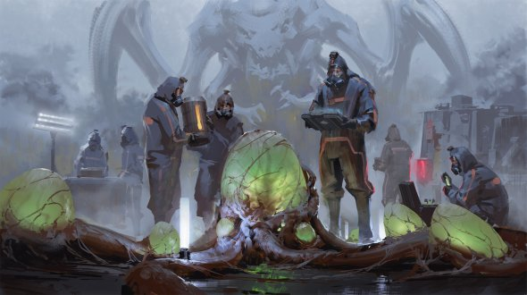 Yerbol Bulentayev artstation arte ilustrações fantasia ficção científica