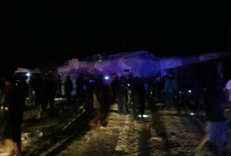 Se desploma helicóptero donde viajaba titular de Segob y gobernador de Oaxaca; al menos 3 fallecidos
