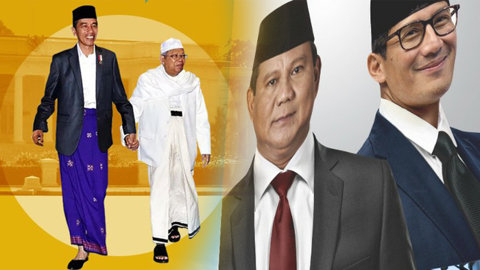 Daftar ke KPU, Jokowi-Ma'ruf Tanpa Massa, Prabowo-Uno Claim 20 Ribu Buruh