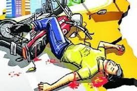 घर जाने से पहले ही आ गई बाइक सवार की मौत- pichhore, NEWS