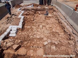Descubren en Jerusalén un camino romano de 1800 años de antigüedad