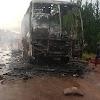 Picha 7:Basi la Arusha Express Lilivyotekea kwa Moto Bukoba.
