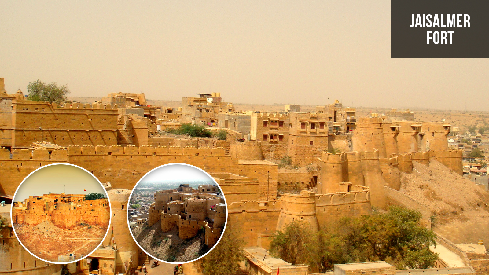 Jaisalmer Stone Elevation : Compare majestic strength of india with forts palaces