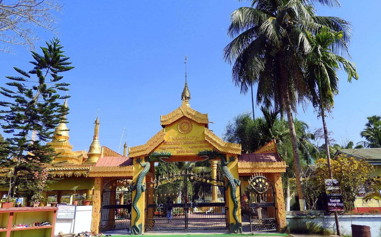 namphake, monastery, assam, dibrugarh, buddhist, buddha