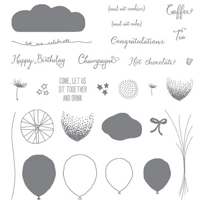 Balloon Celebration Photopolymer Stampin' Up!