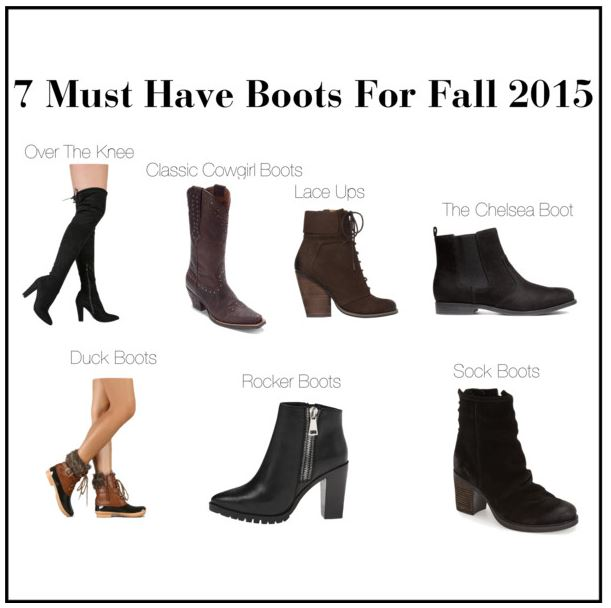The 7 Types of Boots Every Woman Should Have In Their ...