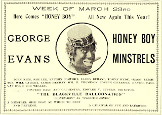 George Evans Honey Boy Minstrels