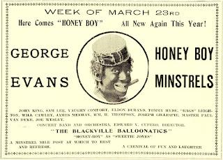George Evans Honey Boy Minstrels