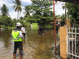 Pintu Air Tol Kapal Betung Dibuka, OKI Siaga banjir