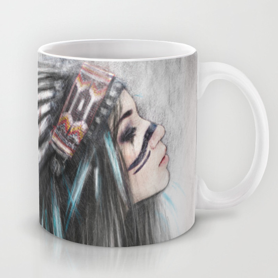 Mugs from Society6