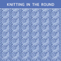 Twist Cable 26 - Knitting in the round