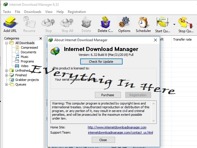 Internet Download Manager 6 32 Build 9 Full Version Free
