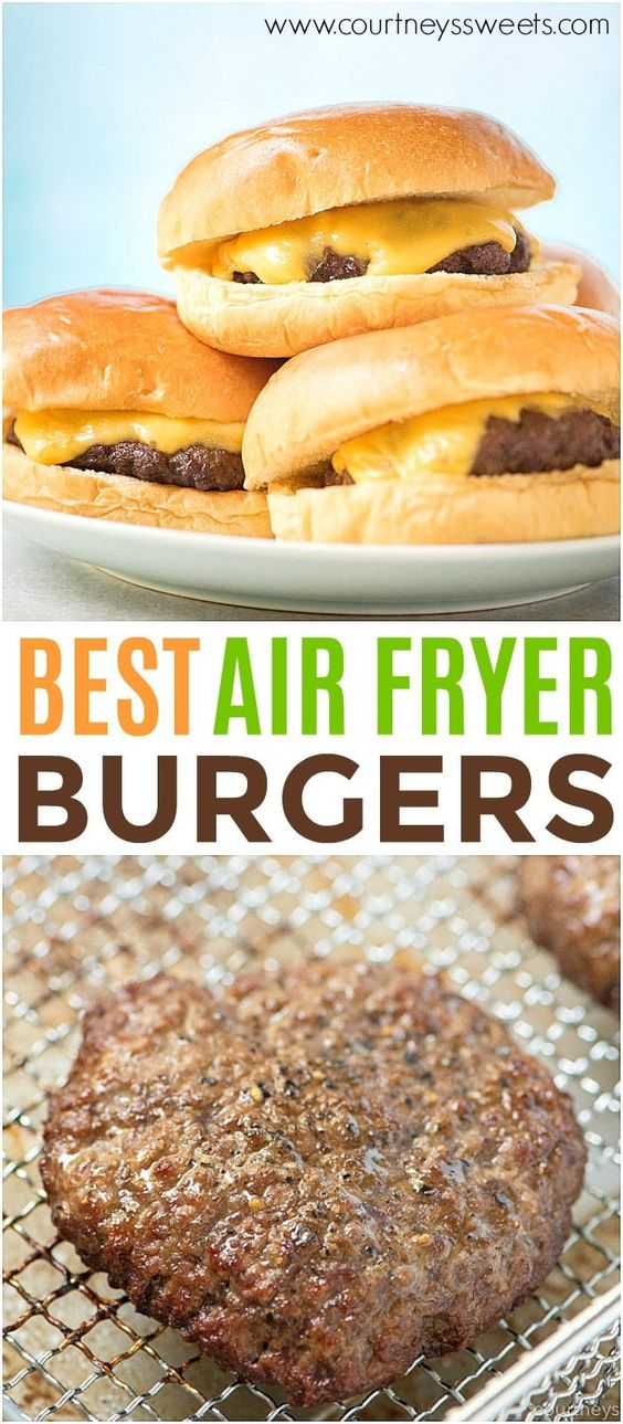 Air Fryer Burgers So Yummy