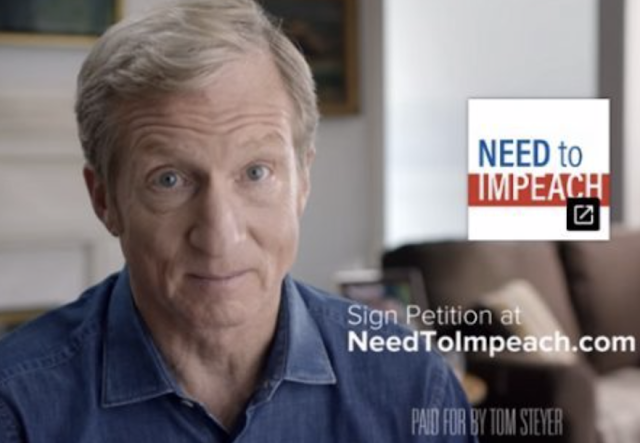 Billionaire Tom Steyer hiring staff in key early 2020 presidential primary states