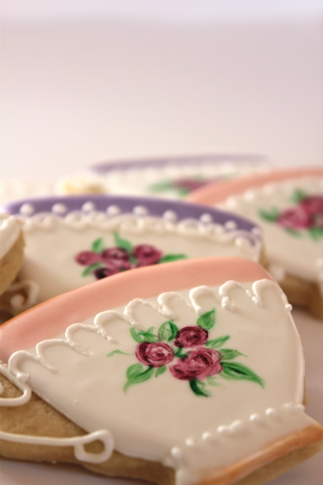 Sugar Bea S Blog Tea Cup Cookies For A Tea Party